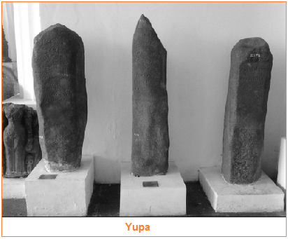 Yupa dan Candi - Peninggalan sejarah yang bercorak agama Hindu