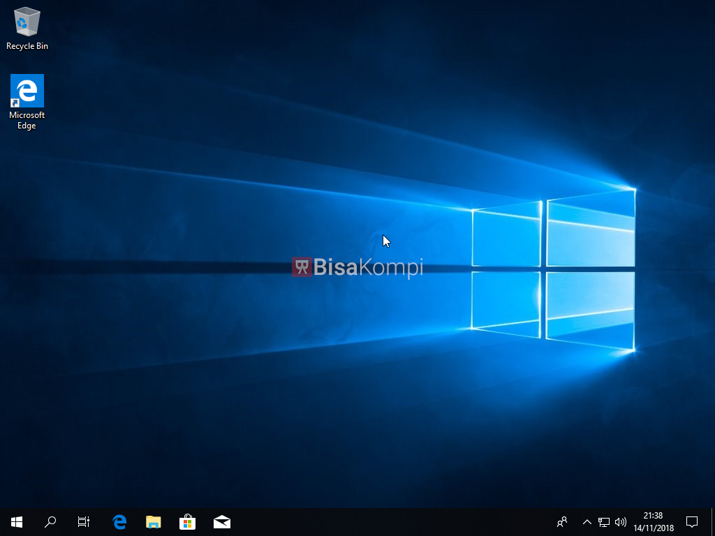 Cara instal Windows 10