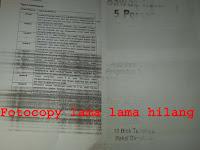 Mengatasi Hasil Fotocopy lama lama hilang ir 5000