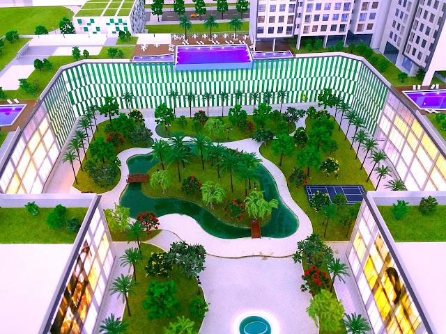 Công viên bên trong căn hộ Centa Park quận Tân Bình