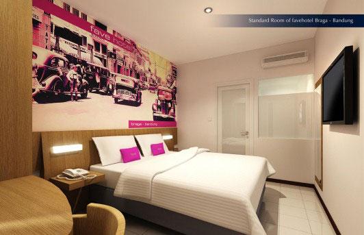 Lokasi Strategis Favehotel Braga