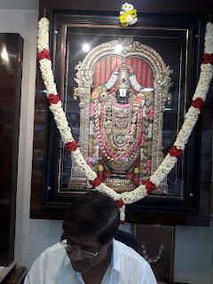 tanjoreart. lord Balaji