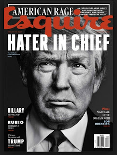 more fake trump magazine covers, esquire hater of the year.