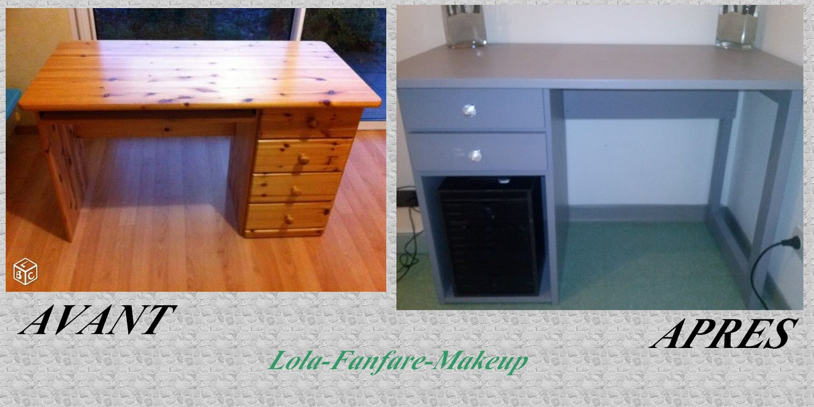 Lola Fanfare Makeup Fabriquer Sa Coiffeuse A Petit Prix