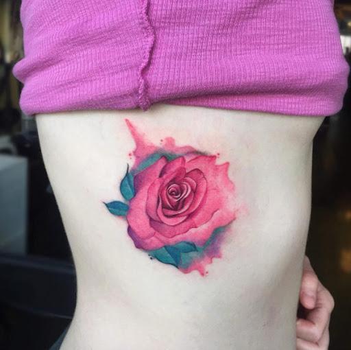 Esta rosa cor de rosa