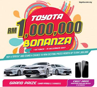 Bonanza Toyota 1 Juta Tawarkan 3 Unit Toyota Camry Hybrid 2.5