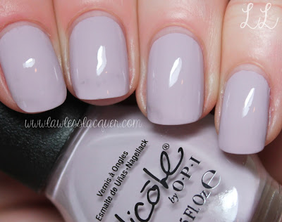 Part I: Nicole by OPI Modern Family Collection Swatches & Review