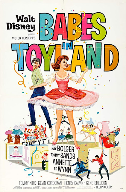 Babes in Toyland 1961 Disney movie poster Tommy Sands Annette Funicello