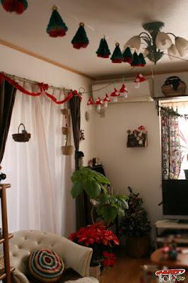 クリスマスガーランド飾り