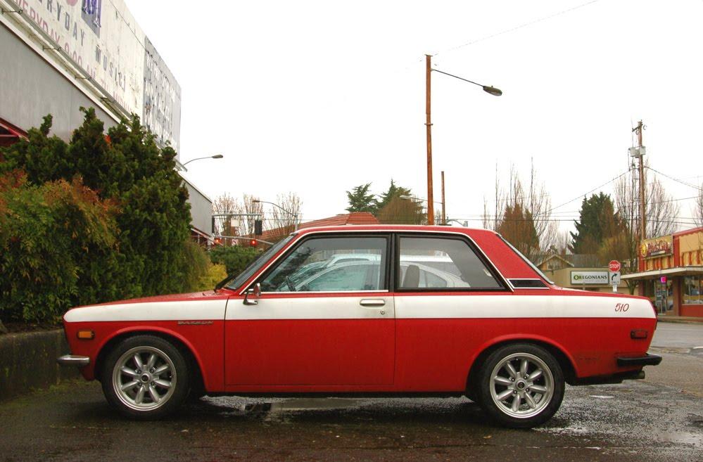 old parked cars 1971 datsun 510 coupe. Black Bedroom Furniture Sets. Home Design Ideas
