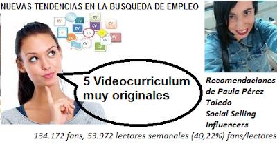 5 Videocurrículum muy originales. #SocialSelling Vídeos que crean tendencias #Influencers