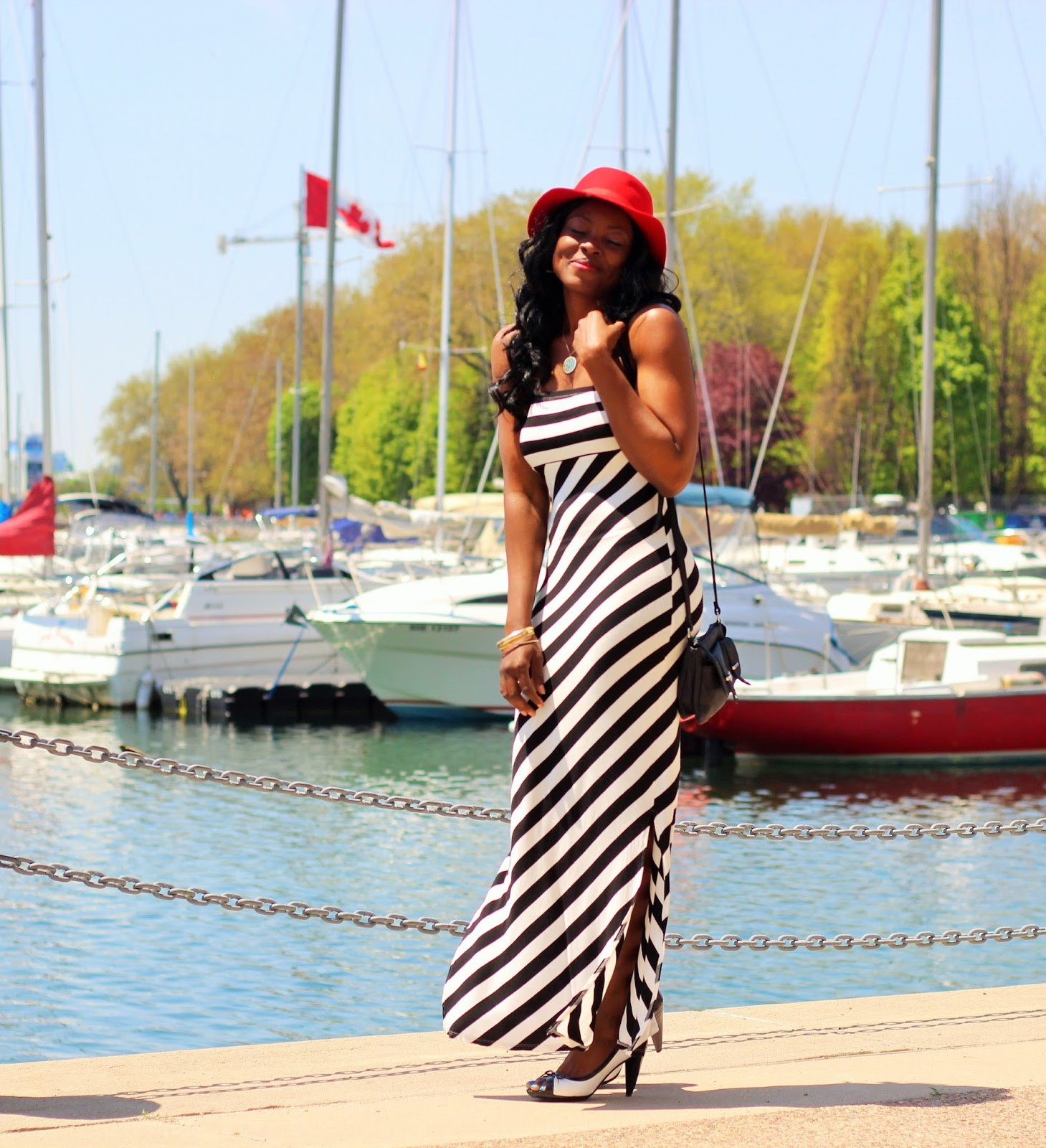 Trendyland striped dress