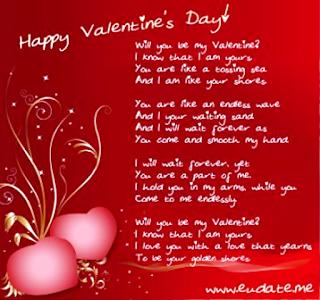 Kartu Ucapan Hari Valentine Dalam Bahasa Inggris Buat Pacar