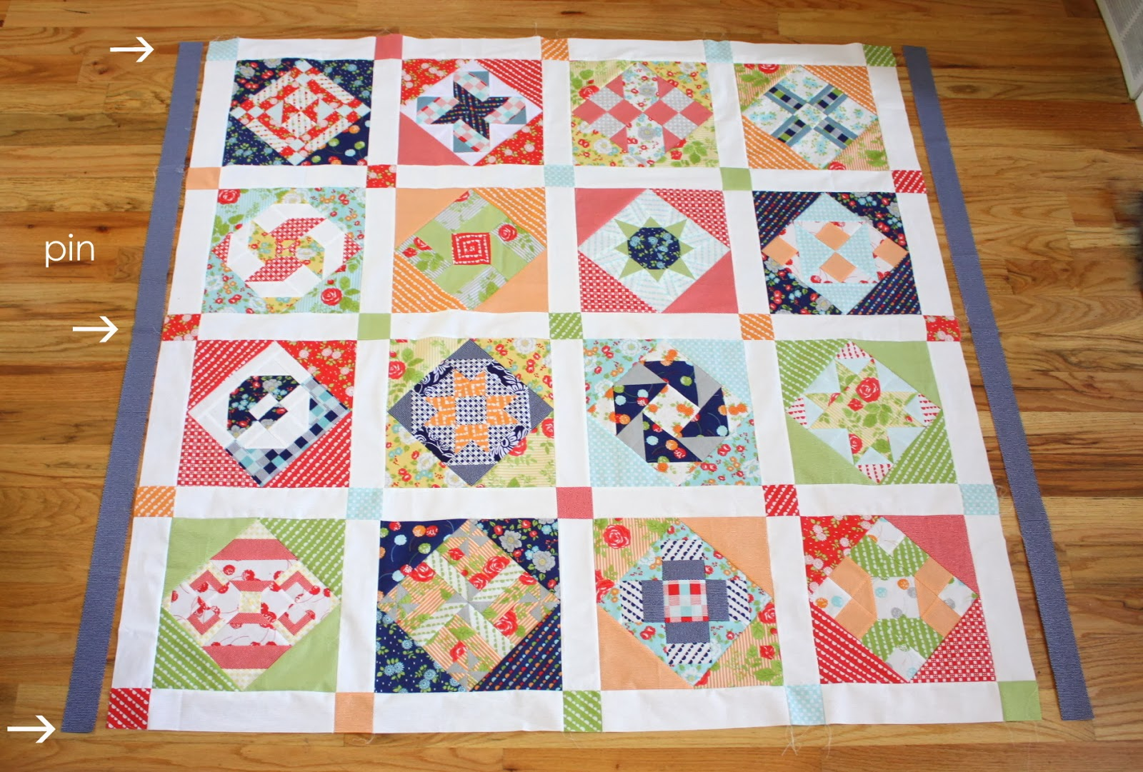 Virtual Quilting Bee - Sashing and Borders - Diary of a Quilter ... : border quilt - Adamdwight.com