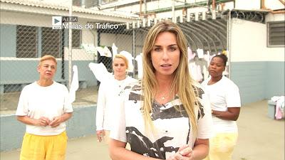 Mariana entrevista presas condenadas por tráfico internacional de drogas - Divulgação/Band