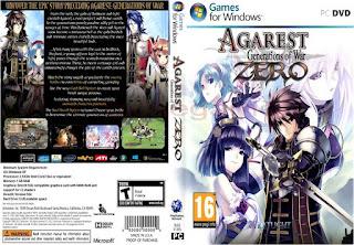 Agarest: Generations of War Zero Cover