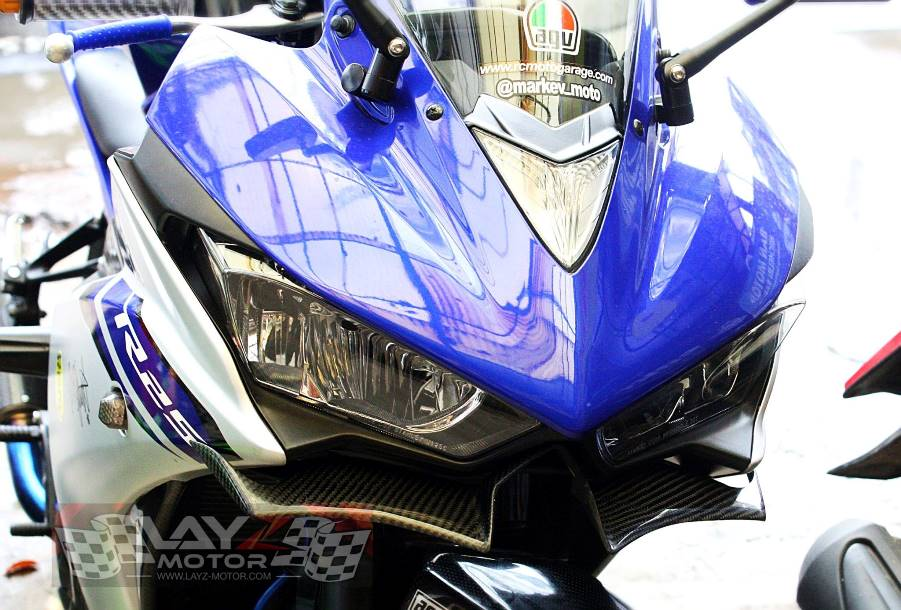 Modifikasi : Pasang winglet di Yamaha R25 dan Kawasaki Ninja 250 Fi cuma 300 ribuan . .