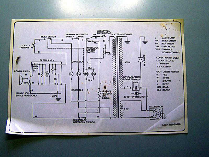 Schema Elettrico Lavatrice Rex : Mytech rex zoppas pm microwave schema elettrico