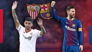 اون لاين مشاهدة البث المباشر مباراة برشلونة واشبيلية اليوم 23-2-2019 الدوري الاسباني اليوم بدون تقطيع