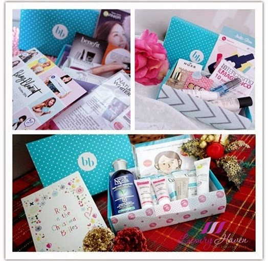 bellabox beauty boxes christmas shopping reviews
