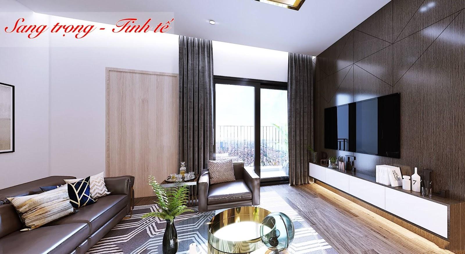 Thiết kế căn hộ mẫu của dự án Amber Riverside