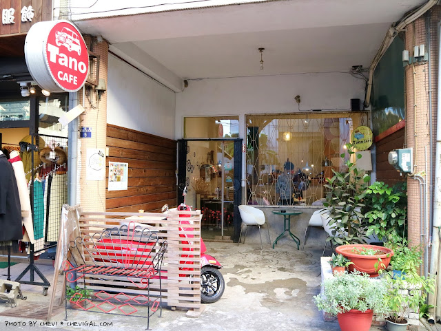 IMG 9174 - 台中北區│樂珈琲 Tano CAFE,隱藏在中友百貨後方的老宅咖啡,還有可愛店貓超療癒!