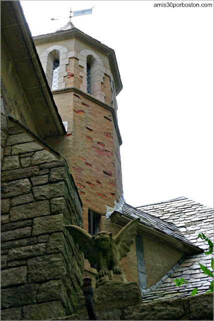 Fachada Exterior del Castillo Hammond, Gloucester