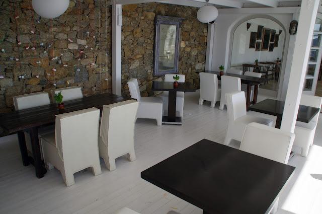 Tharroe of Mykonos Poolside Dining