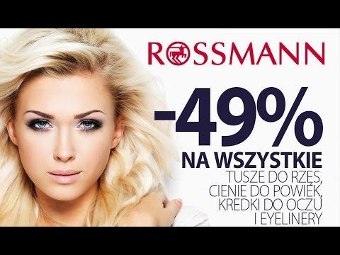 Rossmann wielka promocja -49% i -55% na kosmetyki do makijażu kwiecień 2018