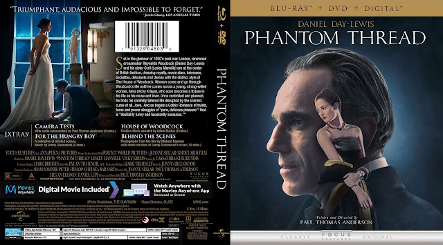 Phantom Thread Bluray Cover