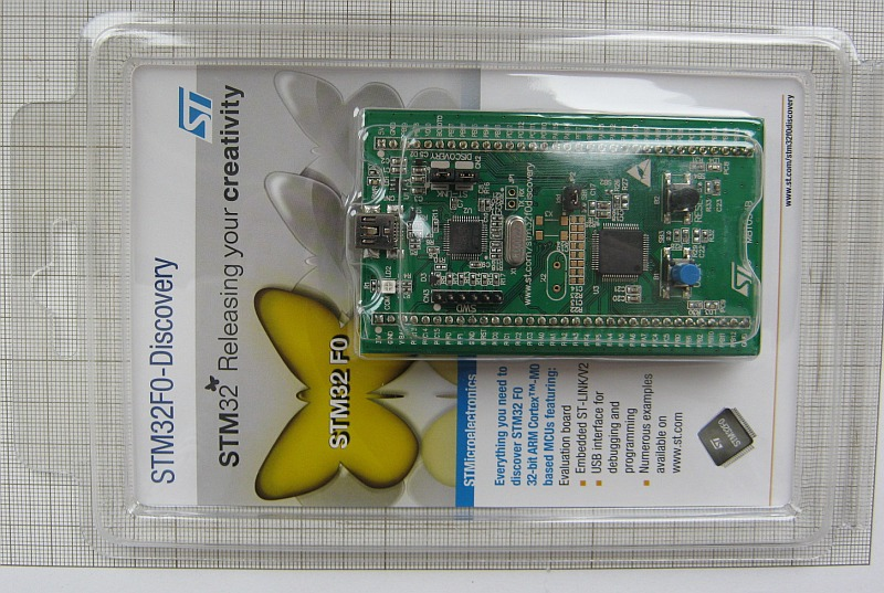 Common Emitter: STM32F0 Discovery