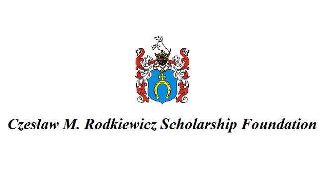 Logo Fundacji Czesława M. Rodkiewicza