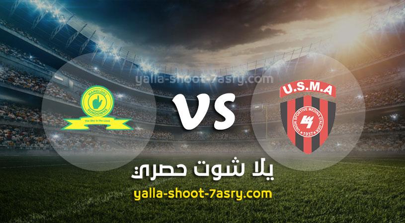 ماميلودي سونداونز يفوز على نادي إتحاد الجزائر في ملعبه بهدف وحيد من دوري أبطال أفريقيا