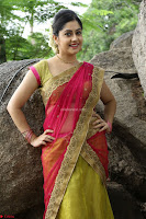 Actress Ronika in Red Saree ~  Exclusive celebrities galleries 046.JPG