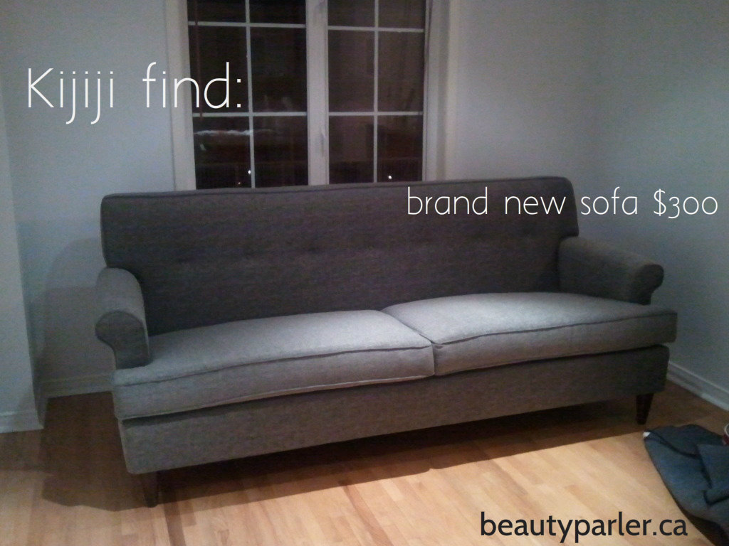 New Sofa Kijiji Decorate On A Budget Kijiji Finds Interior Design Beauty Parler