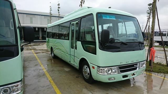 Xe khách 29 chỗ Thaco Fuso tại Hải Phòng giá cả cạnh tranh