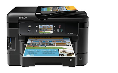 Epson Workforce WF-3540DTWF Driver Downloads