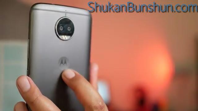 Logo HP Moto G5s Plus Motorola