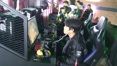 Kick-off Match Pro Team antara PG Barracx dan The Prime yang dimenangkan oleh PG Barracx.