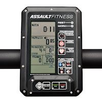 AirRunner LCD fitness monitor, image, with 8 programs including intervals, targets & heart-rate, Bluetooth connectivity,