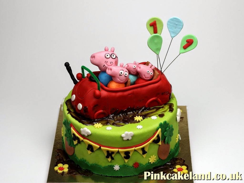 Bday Cakes in London Peppa Pig