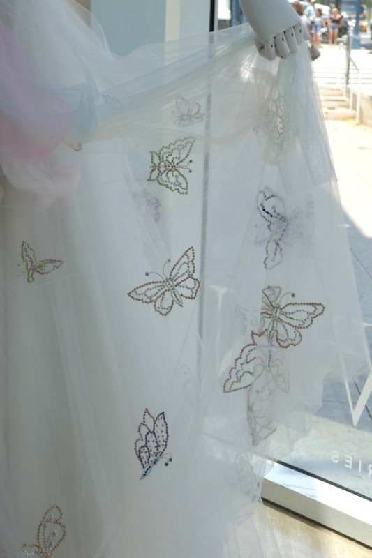 Princess Margaret butterfly gown The Crown season 2