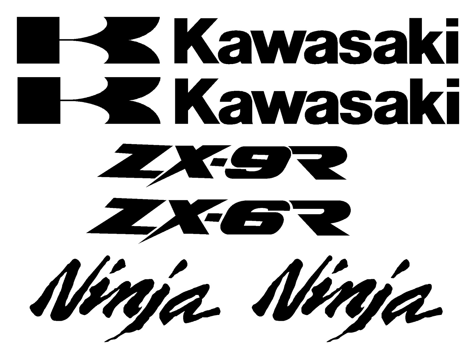 History Of All Logos All Kawasaki Logos