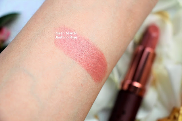 Karen murrell blushing rose swatch