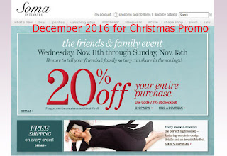 Soma Intimates coupons december 2016