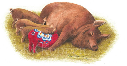 Dala Pig - the red Duroc