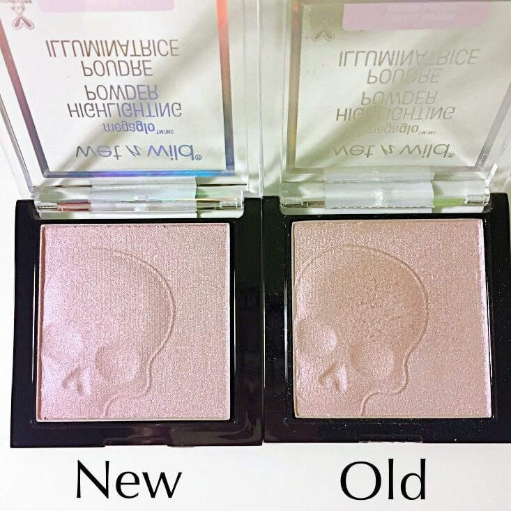 wet n wild megaglo Highlighting Powder If You Got It, Haunt It vs Purple Ashes