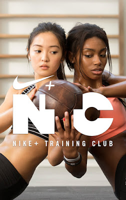 Capture d'écran de l'application Nike Training Club