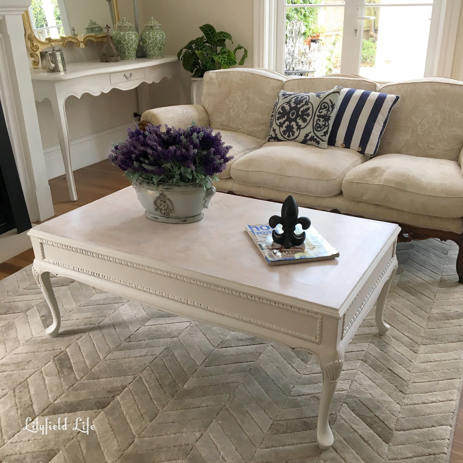 Lilyfield Life A Limed White Coffee Table