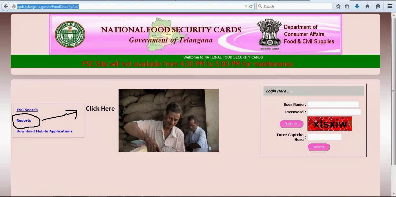 Telangana Ration Key Register Download -Ration Card Full Information Govt Portal